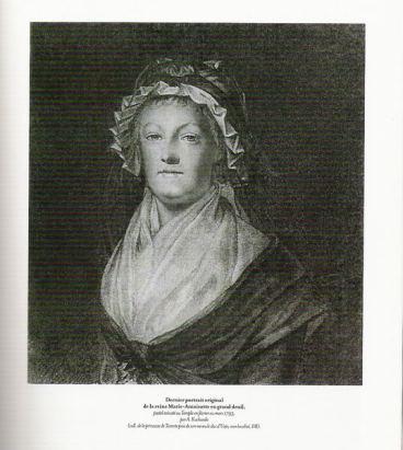 Dernier portrait de Marie-Antoinette par A. Kucharski