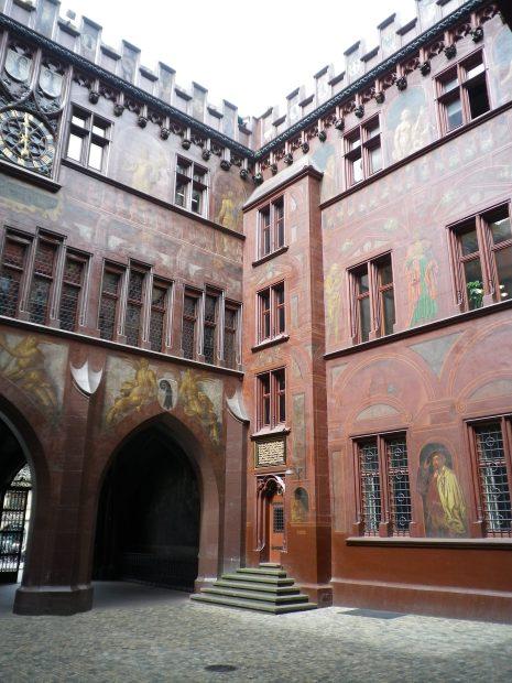 Rathaus vu de la cour