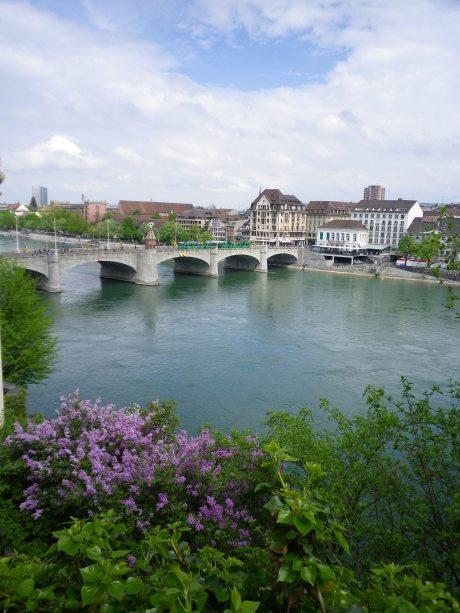 Le Mittlere Brücke vu du Rheinsprung